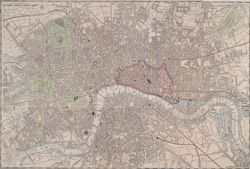 [London at one view: a new map]